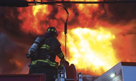 Collapse at Commercial Fire in E. Farmingdale