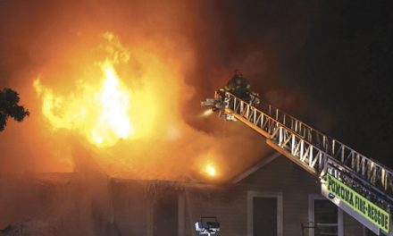 Fire Held in Galloway Twp.
