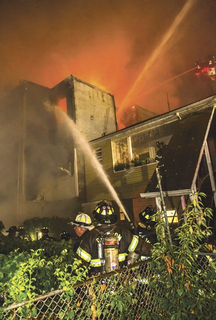 60 Displaced in Tough Paterson 4-Alarm