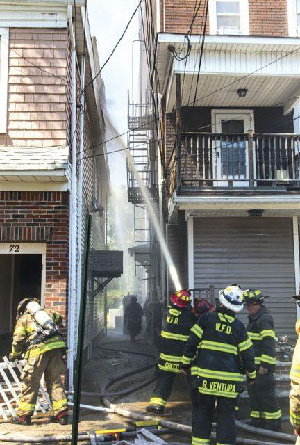11 FFs Injured in Passaic 5-Alarm Blaze