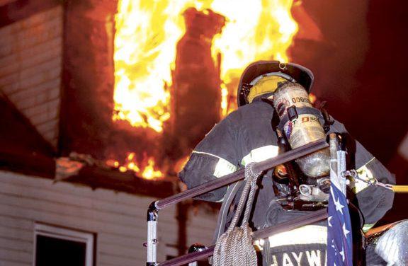Irvington Early Morning Blaze Stopped