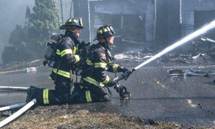 Fire Guts House in Setauket