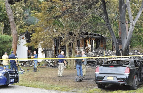 Fatal Fire in Jamesport