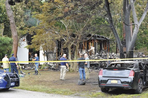Fatal Fire in Jamesport