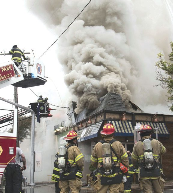 Commercial Fire in Floral Park