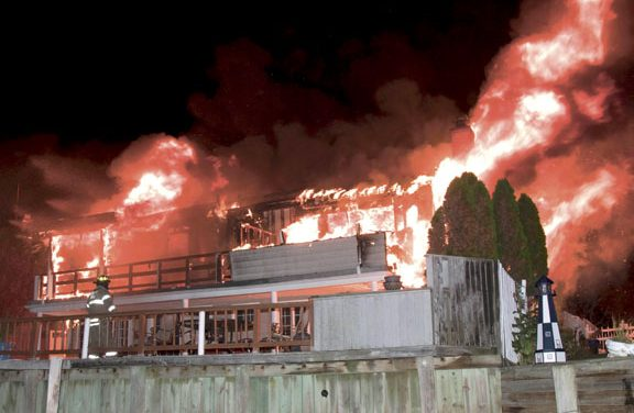 Merrick House Fire Goes to 2 Alarms