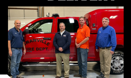 GRANVILLE (IL) TAKES DELIVERY OF NEW RAPID RESPONSE COMMAND UNIT