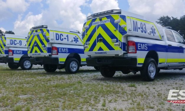 WAKE COUNTY EMS (NC) TAKES DELIVERY OF 3 NEW RAPID RESPONSE VEHICLES