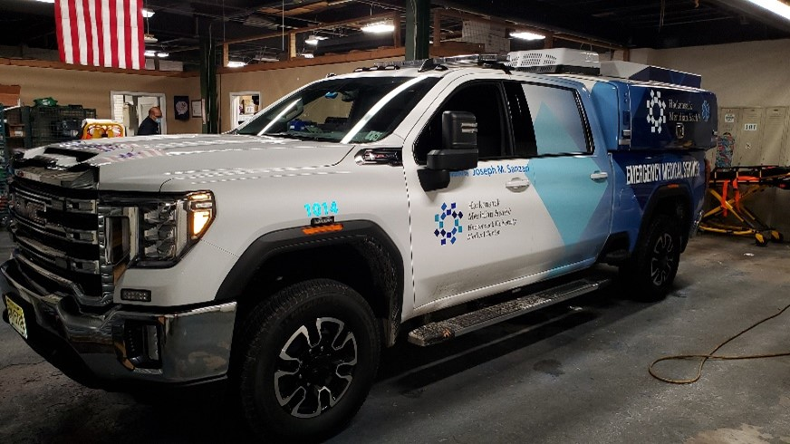 HACKENSACK UNIVERSITY MEDICAL CENTER TAKES DELIVERY OF NEW RAPID RESPONSE UNITS