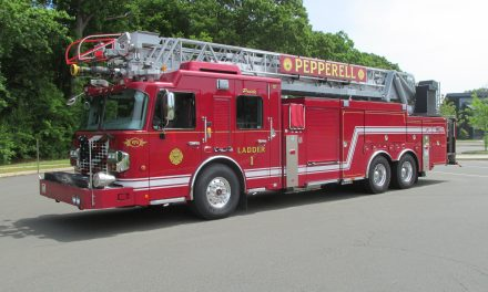 PEPPERELL (MA) TAKES DELIVERY OF NEW SPARTAN AERIAL