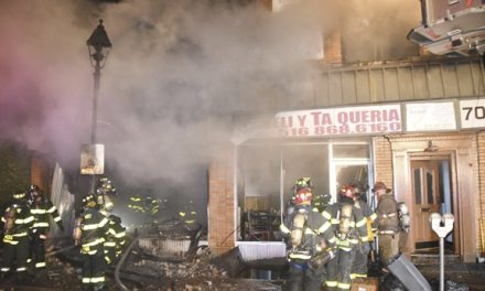 Florist Shop Burns in Freeport
