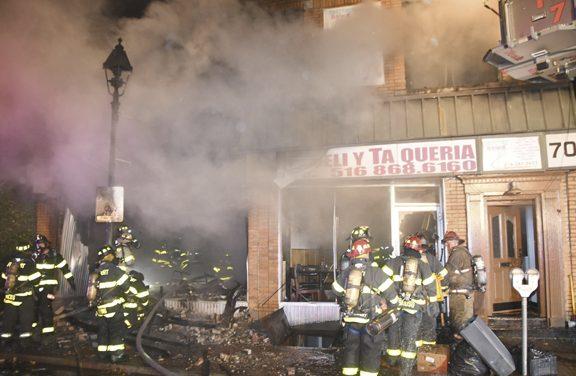 Florist Shop Burns in Freeport