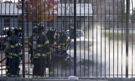 East Orange Car Fire Held