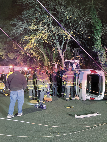 Overturn in Wantagh