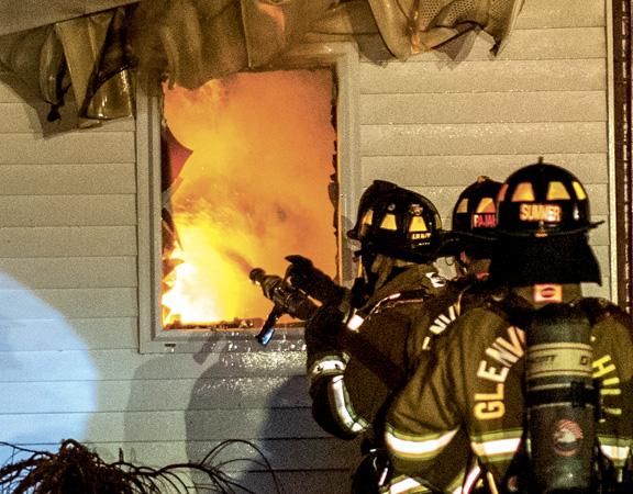 Women Burned in Glenville Fire