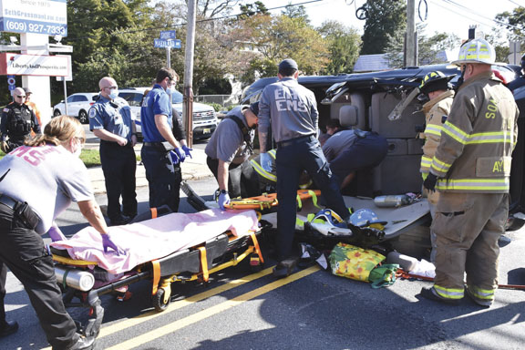 Extrication in Somers Point