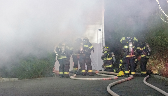 Dune Road House Fire