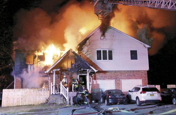 Stubborn Blaze in Islip Terrace Displaces 19