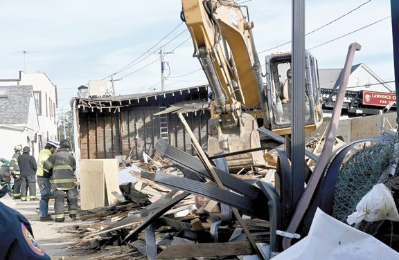 Building Collapse in Woodmere