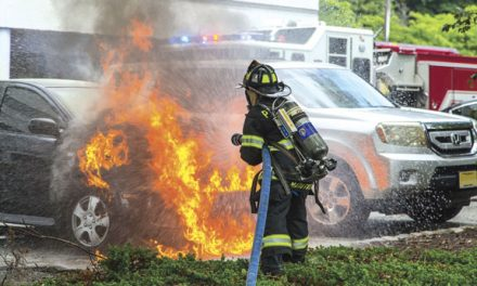 Paramus Car Fire