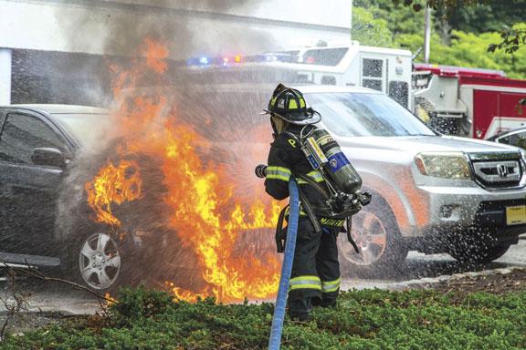 Paramus Car Fire