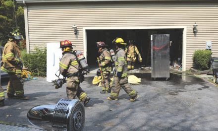 Athens KOs Garage Fire