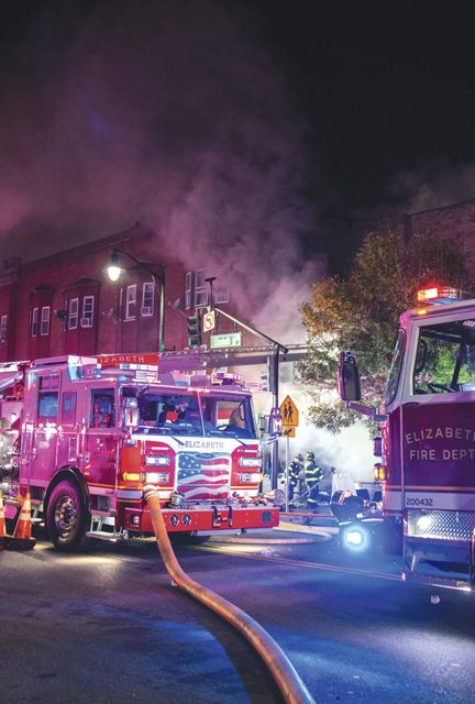4 Fatalities at Elizabeth 5-Alarmer