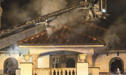 Harrison House Fire
