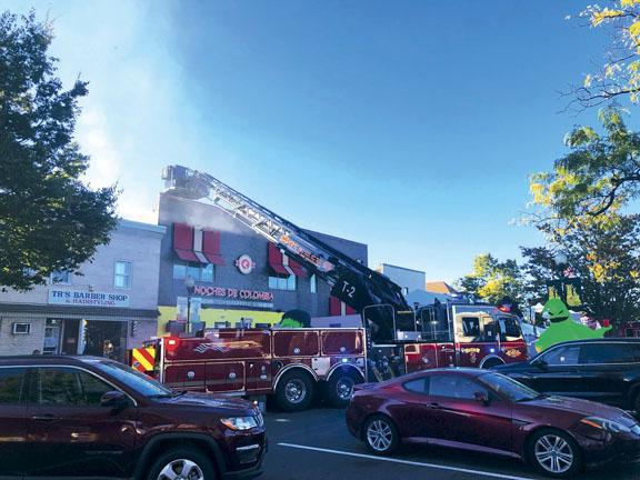 Secaucus Kitchen Fire Extends