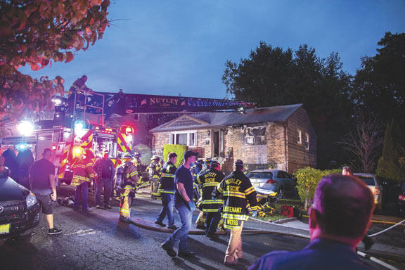 Fatalities in Nutley Blaze