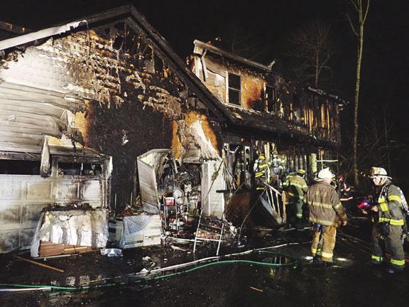 Home Burns in Kiryas Joel