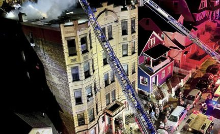 Fatality at 5-Alarmer in Yonkers
