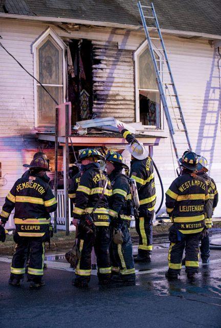 Pemberton 2-Alarm Church Fire