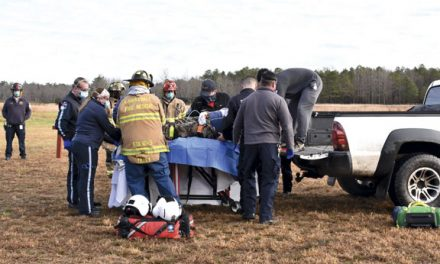 Hunter Rescued After Fall