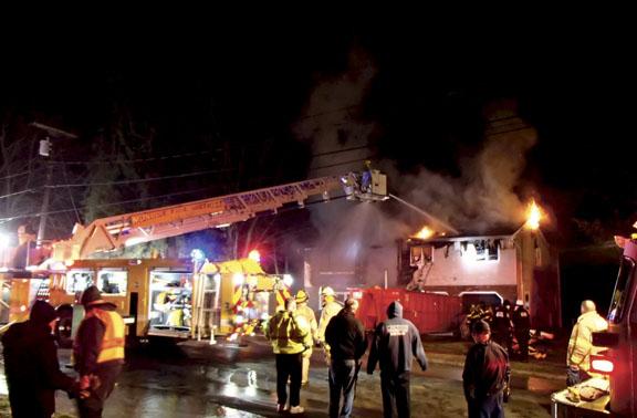 Washingtonville Partial Collapse