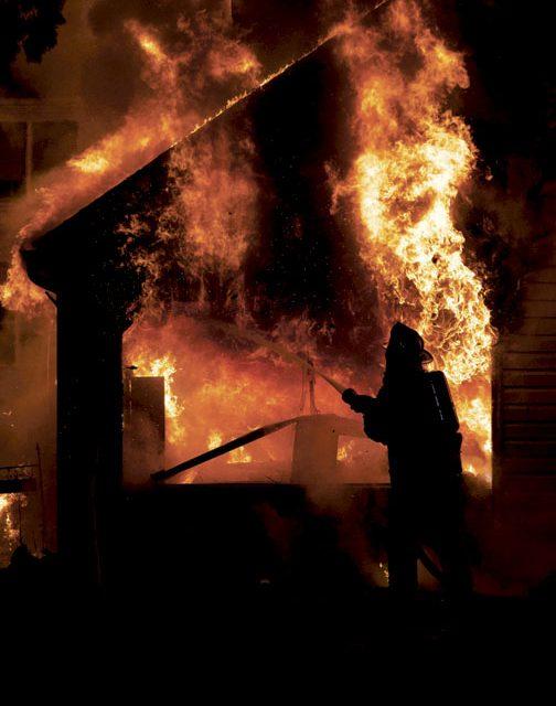 Summerdale Garage Fire