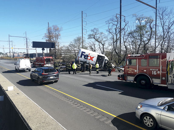 Bensalem Truck vs. Car MVA