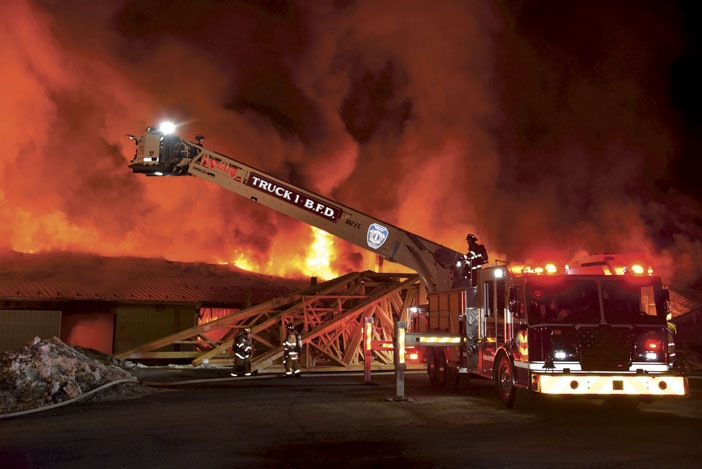 Allensville Planing Mill Destroyed