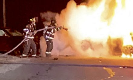 1 Injured at Laurel 2-Car MVC, Fire