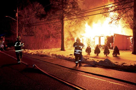 Suspicious Fire in North Amityville