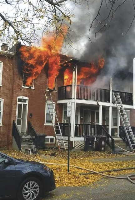 Fatality in Wilmington Blaze