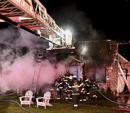 Electrical Fire in Clayton