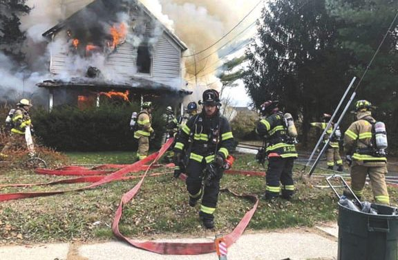 House Fire in Bohemia