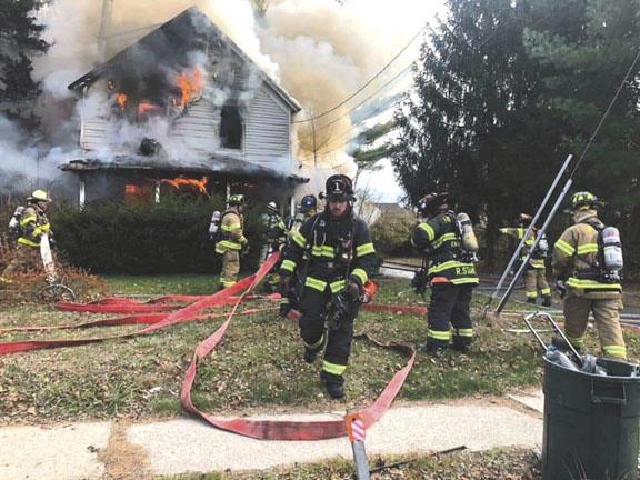 House Fire in Bohemia
