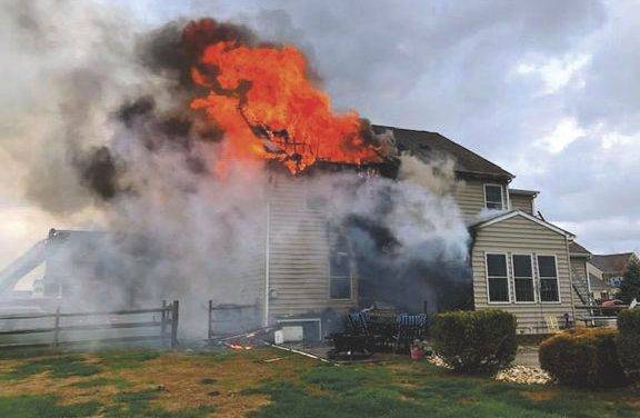 Extensive Damage to Jockey Hollow Home