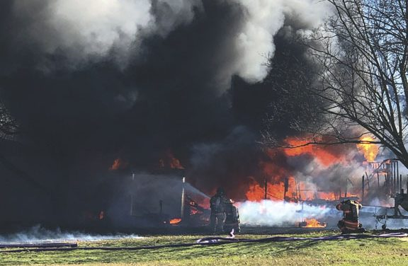 Commercial Fire Extends