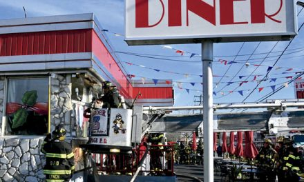 South Farmingdale Diner Fire