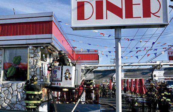 South Farmingdale Diner Fire