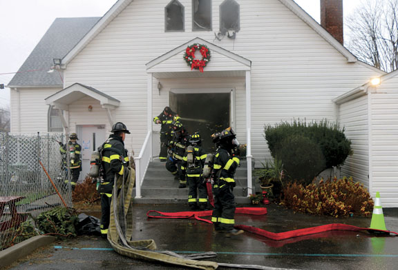 Historic Levittown Church Damaged in Christmas Fire