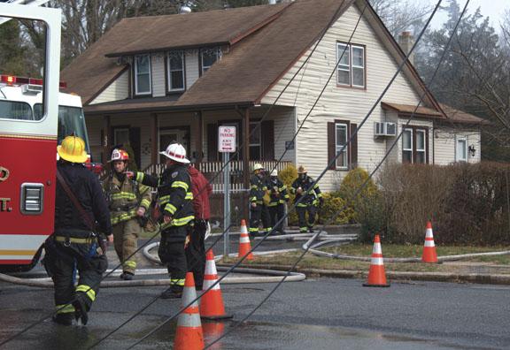 Vineland House Fire